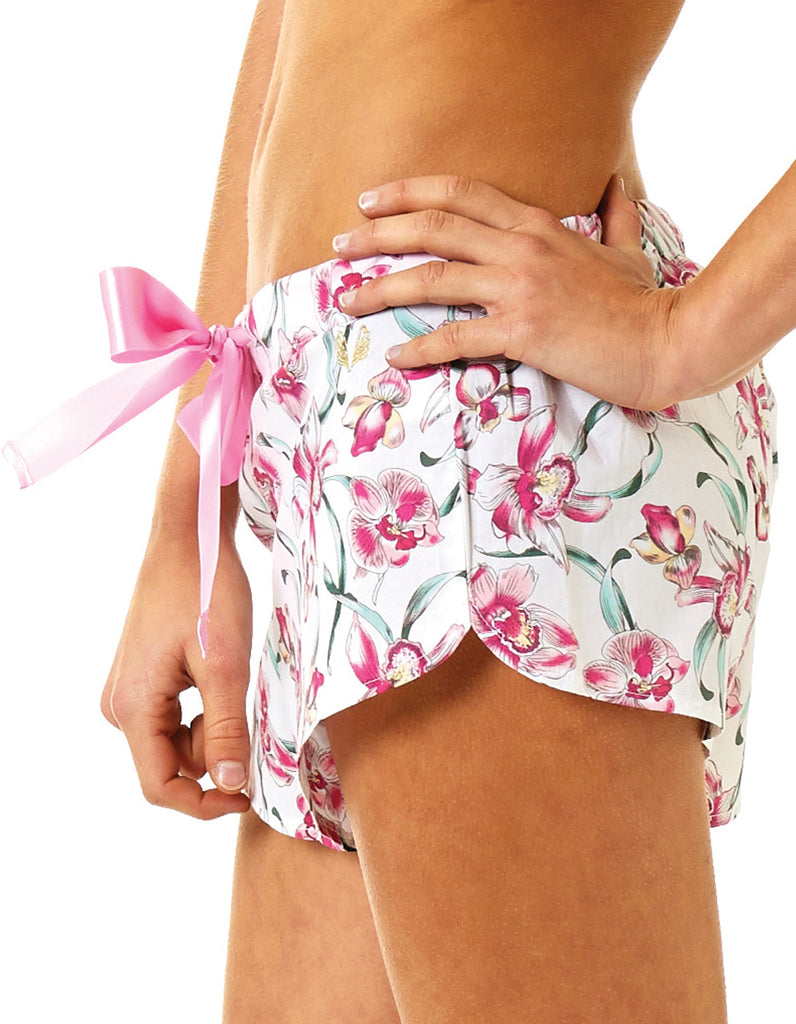 Orchid Shorts - Lazy Days Loungewear - 4