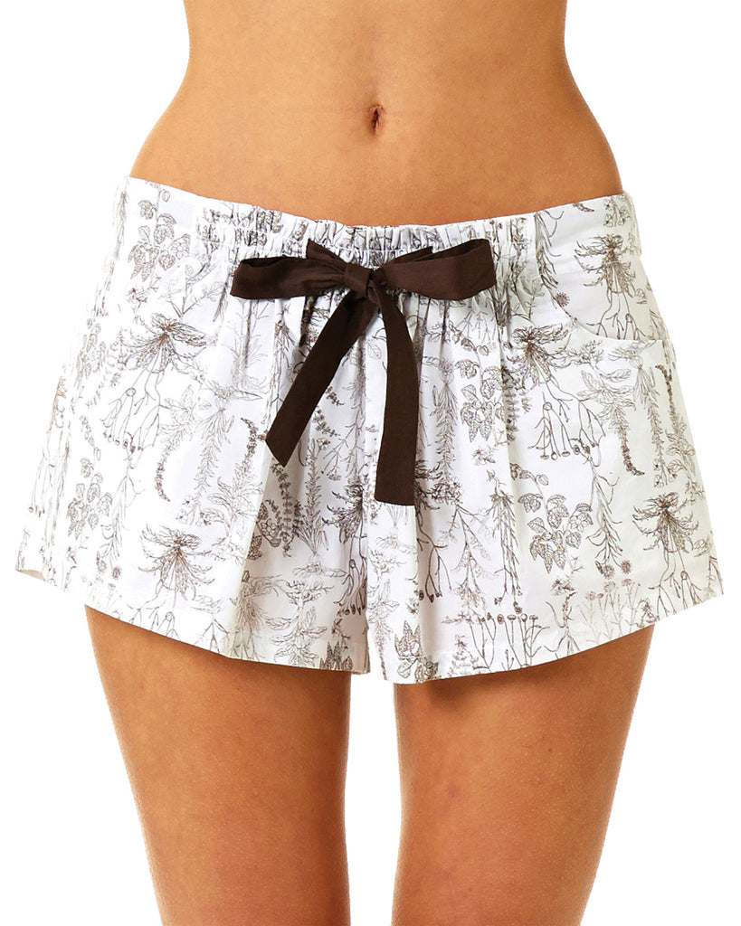 Botanical Shorts - Lazy Days Loungewear - 3