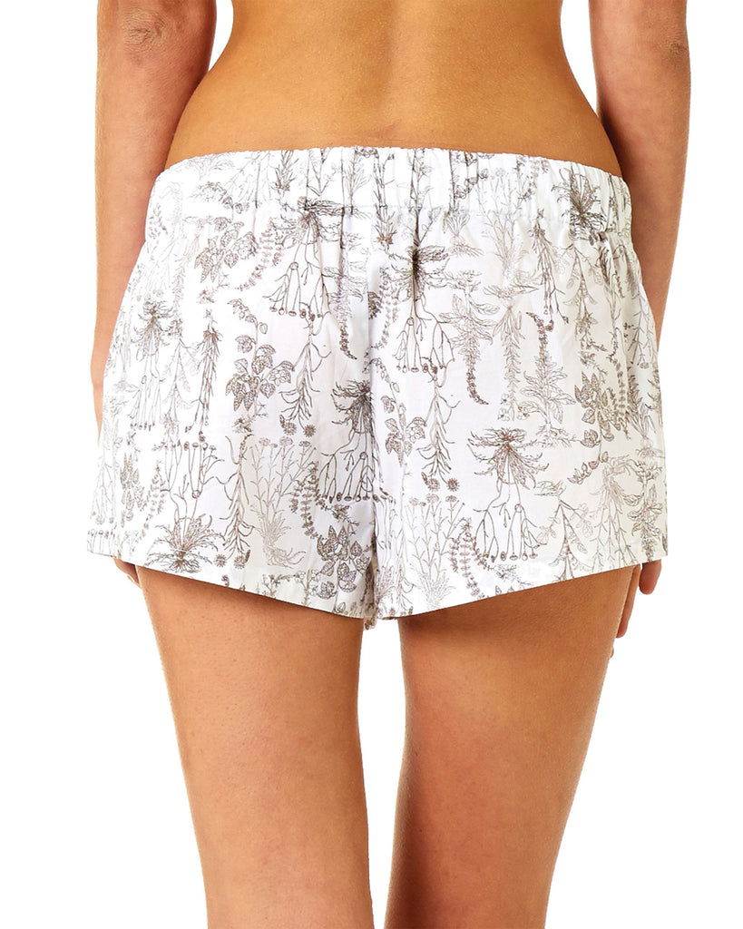 Botanical Shorts - Lazy Days Loungewear - 5