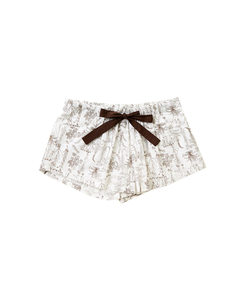 Botanical Shorts - Lazy Days Loungewear - 2