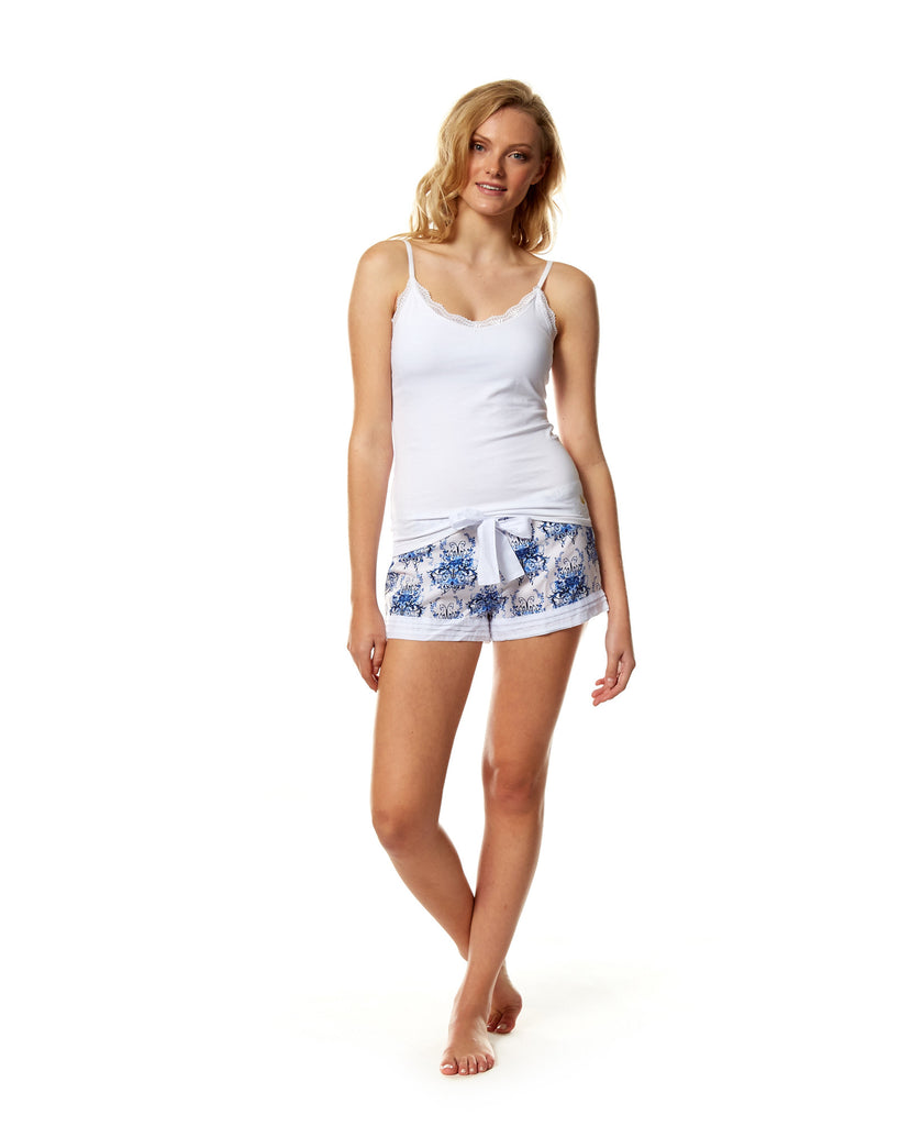 Chandelier PJ Shorts - Lazy Days Loungewear - 2