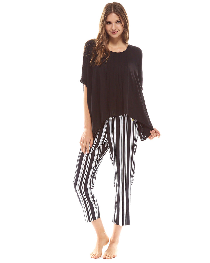 Milliner Crop Pyjama Pant - Lazy Days Loungewear - 5