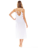 White Night Dress - Lazy Days Loungewear - 5