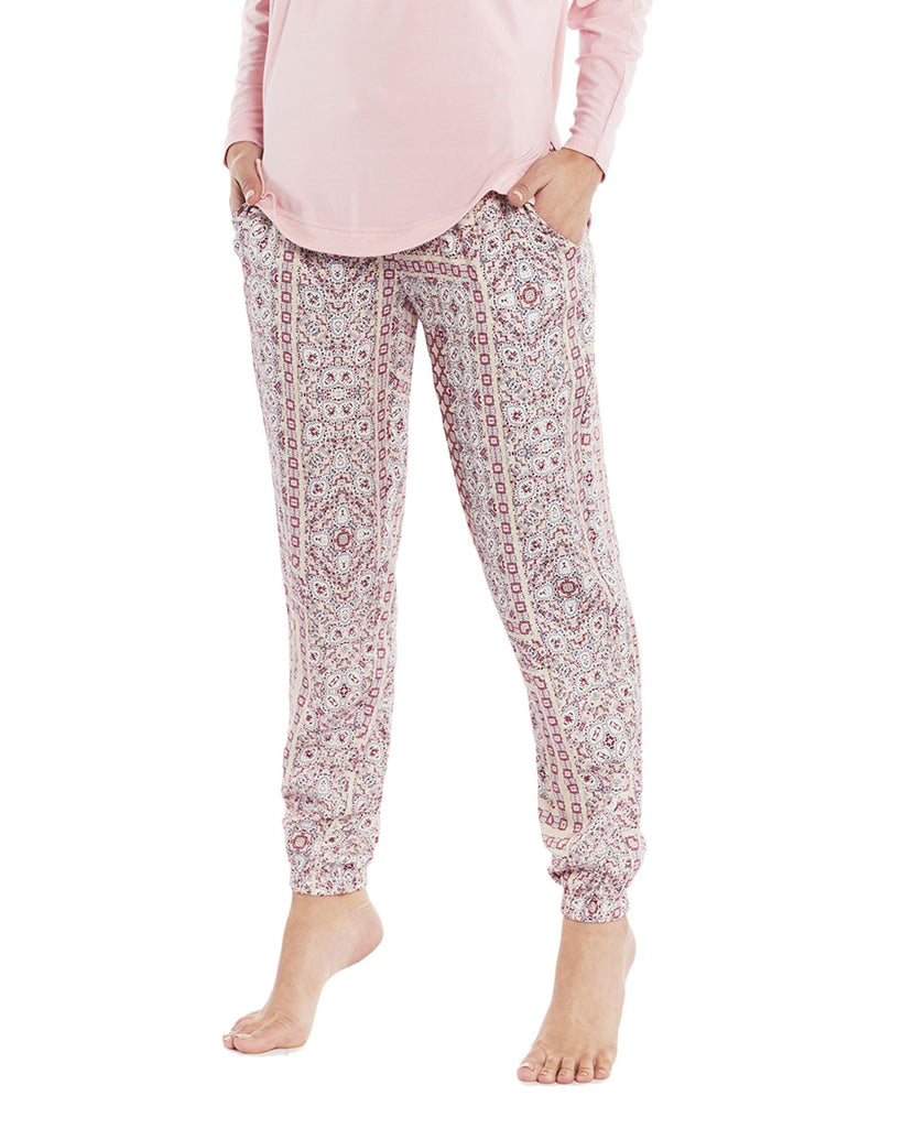 Rosegarden Lounge Pants. Lazy Days Loungewear
