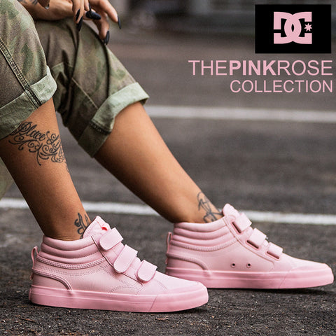 DC Shoes 2018 | Pink Rose Collection : Popular Women's Style Refresh
