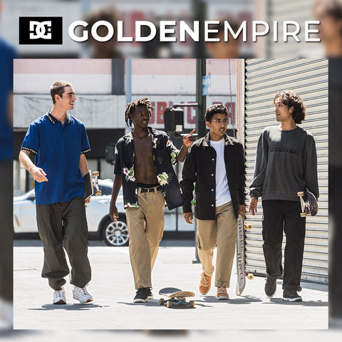 DC Shoes 2018 : Golden Empire - Timeless Outfits