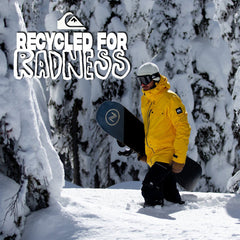 Quiksilver Mens 2020 | Introducing the Recycled For Radness Snow Jacket Collection