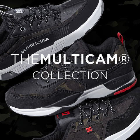 DC Skate Shoes 2018 | Introducing The Multicam Collection