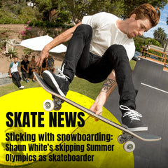 Shaun White's skipping Summer Olympics as skateboarder