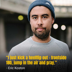 Professional Skateboarder Eric Koston Early Life & Career