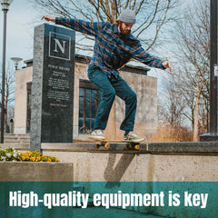 Skateboarding Safety Tips | High quality equipment is key