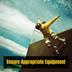 Skate Riding & Skating Tips | Ensure Appropriate Equipment