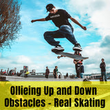Skateboarding Tips | Ollieing Up and Down Obstacles