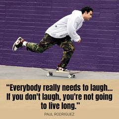 Professional Skateboarder Paul Rodriguez Early Life & Career
