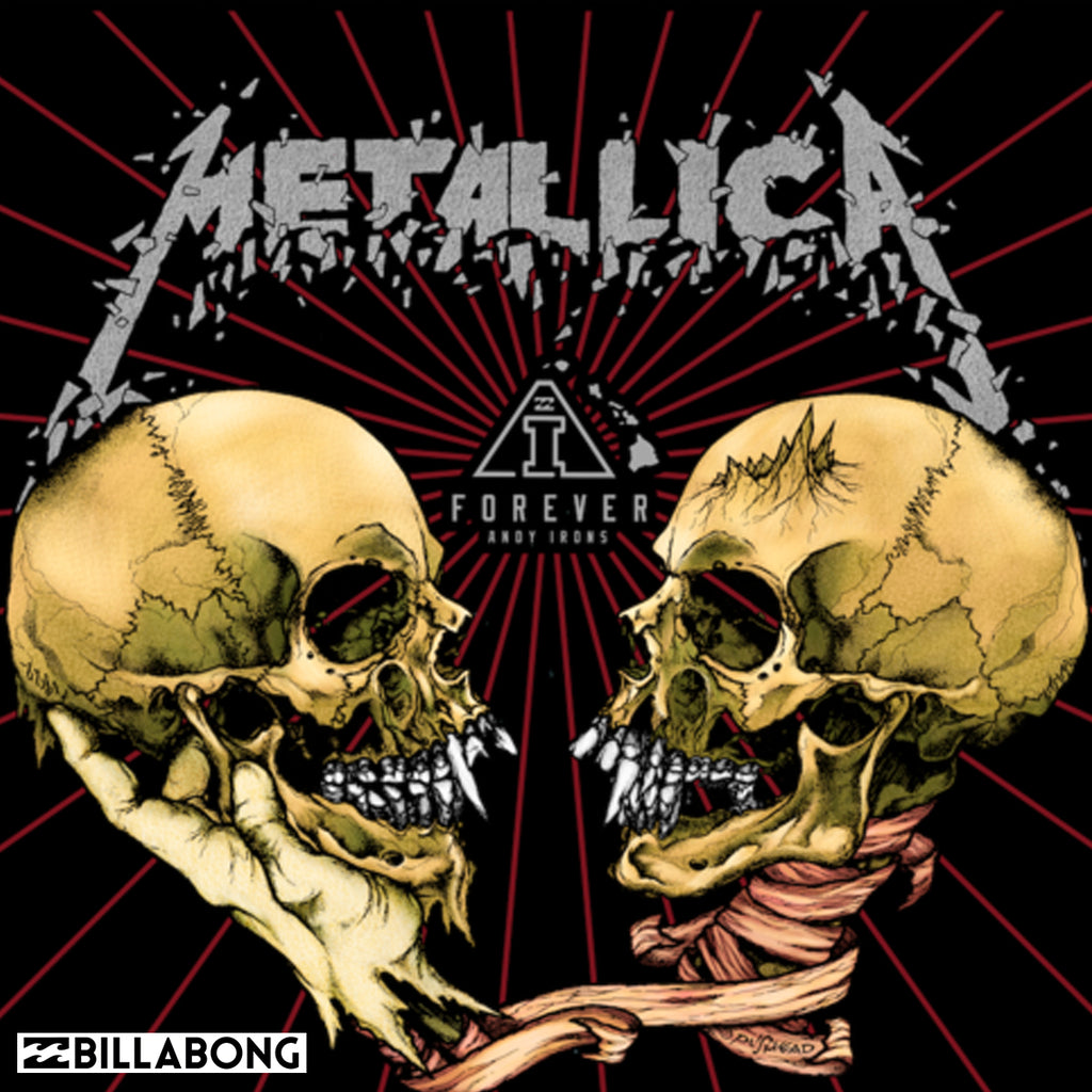 Billabong Men's Beachwear 2019 | Metallica x AI Forever Collection