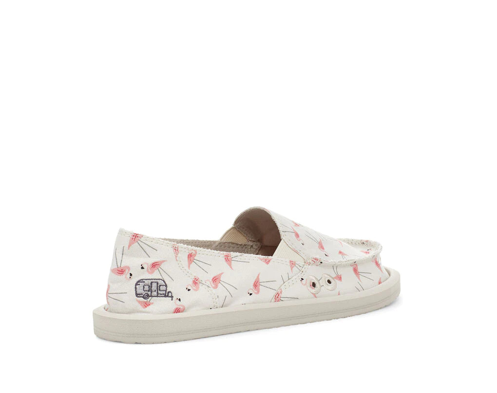 Sanuk Footwear 2021   Airstream Embroidered Shoe Collaboration