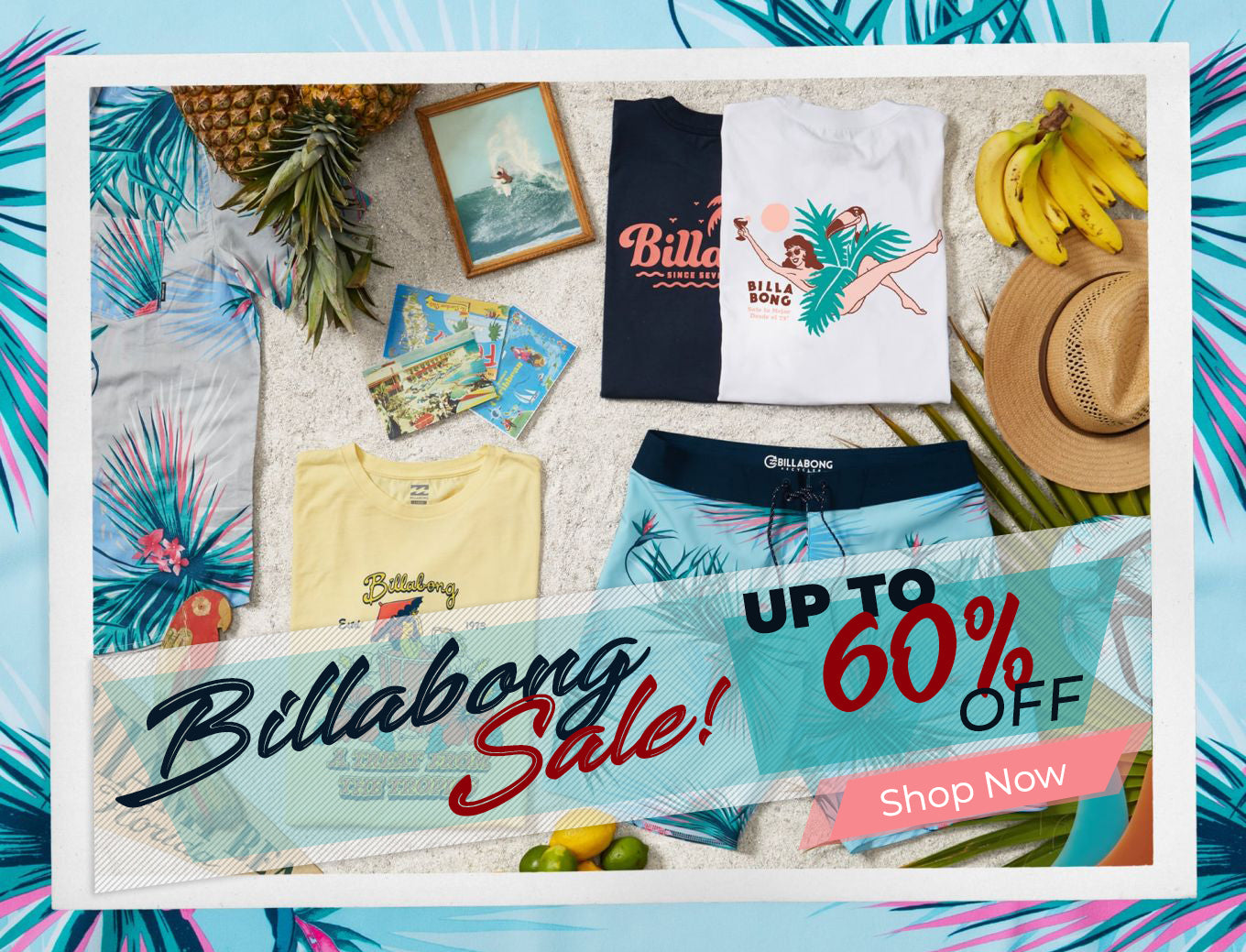 Billabong Collection On Sale Up to 60% OFF
