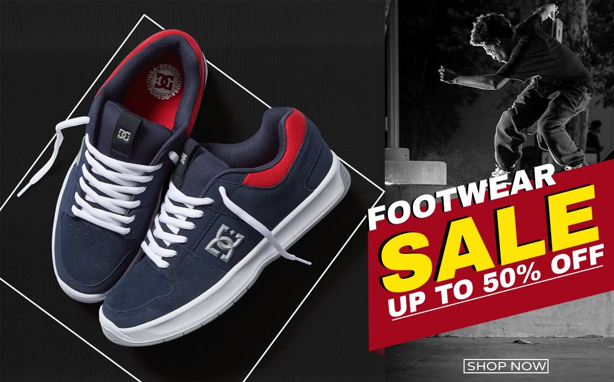Footwear Sale Up to 50% Off