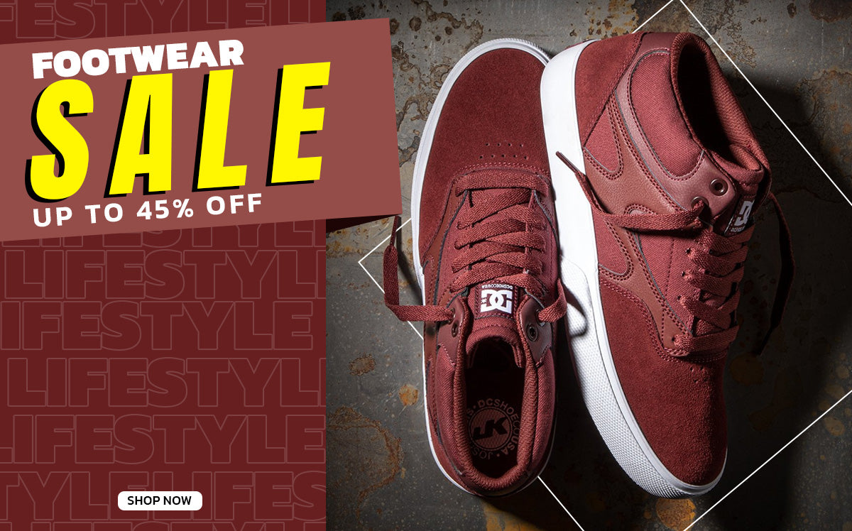 Footwear Sale Up To 45% Off