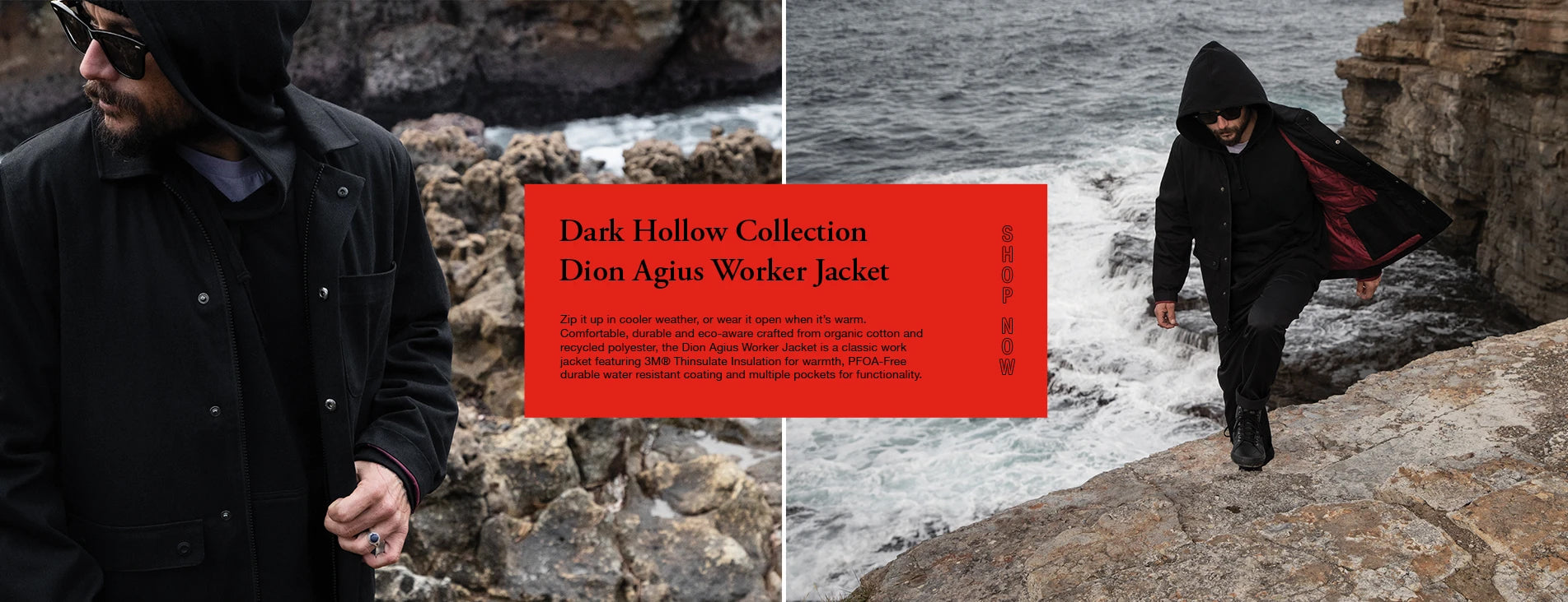 Globe Introducing The Dark Hollow Collection Dion Agius Worker Jacket