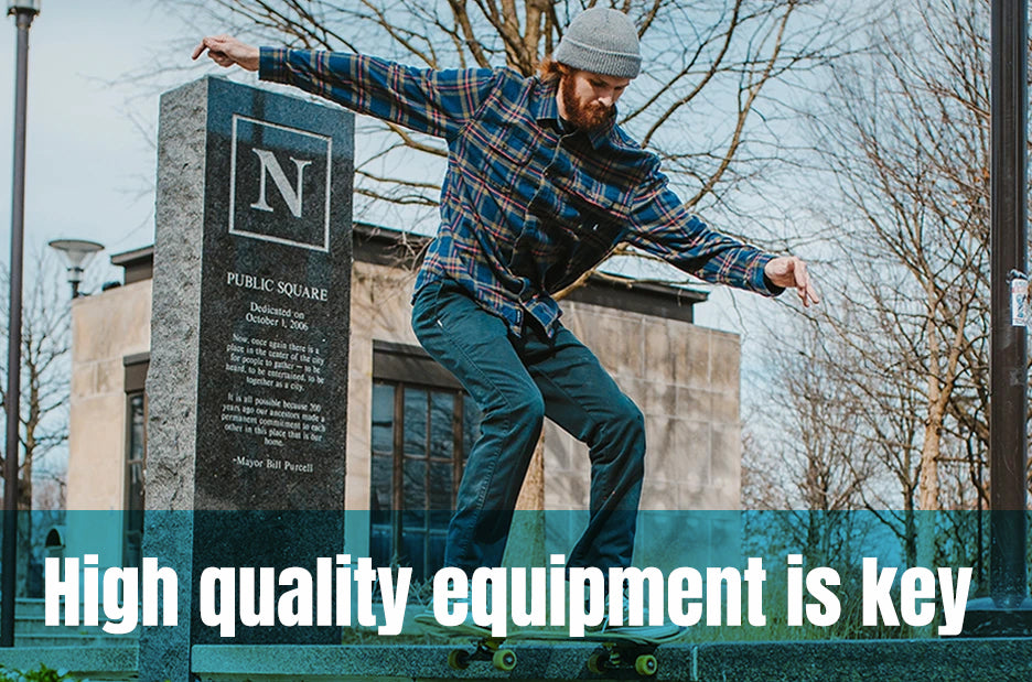 Skateboarding Safety Tips | High-quality equipment is key