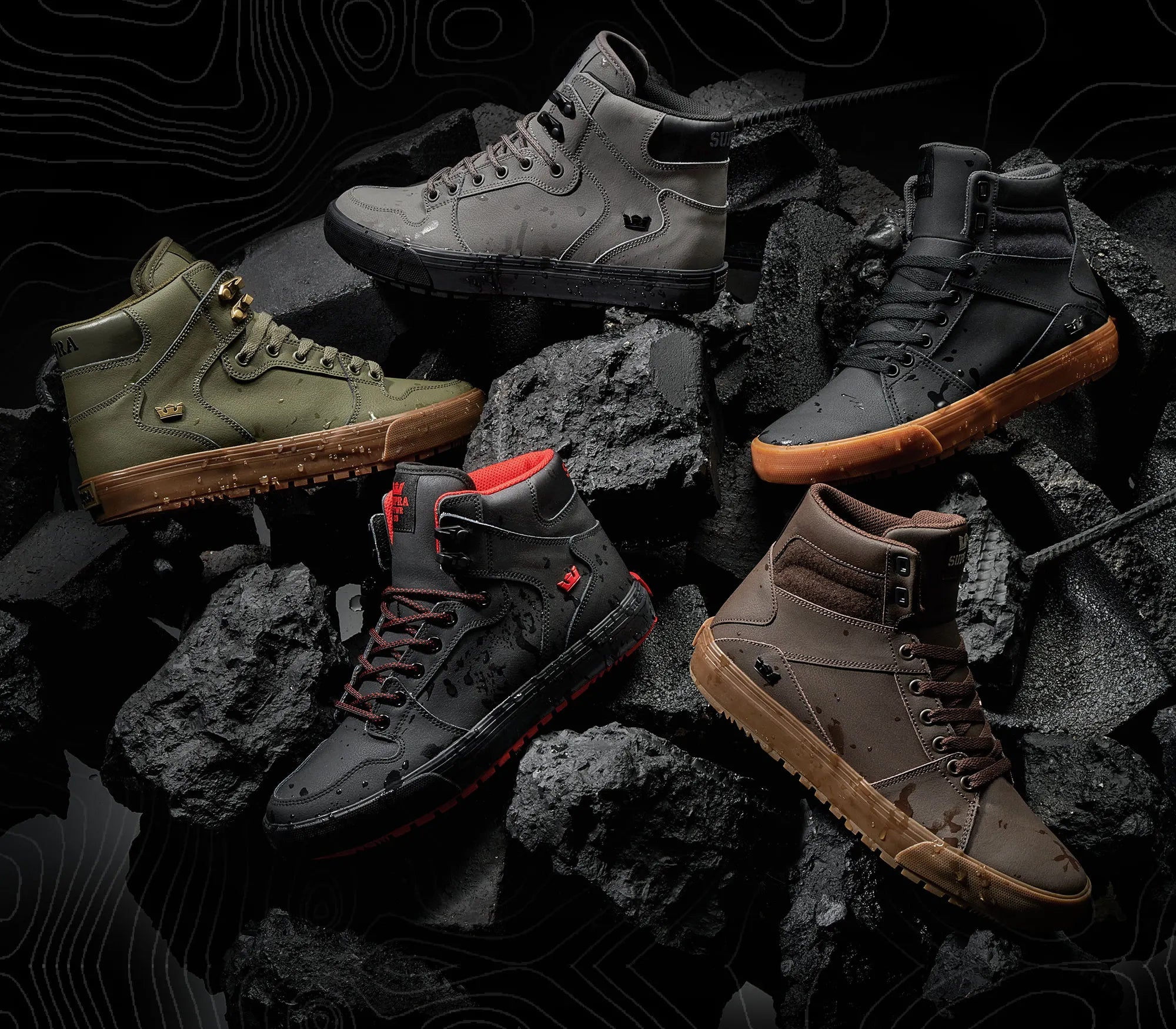 Supra Shoes 2019 Introducing The Coldweather Collection