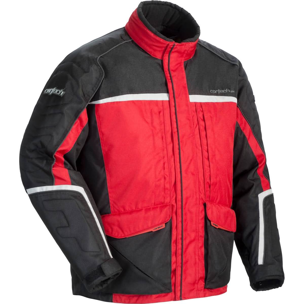 Cortech Cascade 2.0 Men's Snow Jackets - Red/Black/Silver