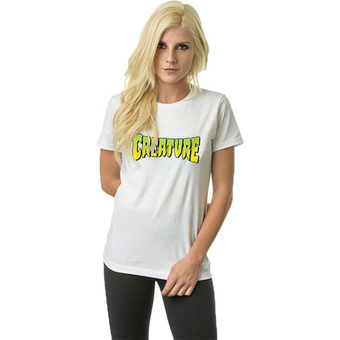 Creature Logo Fitted Women's Short-Sleeve Shirts (NEW)