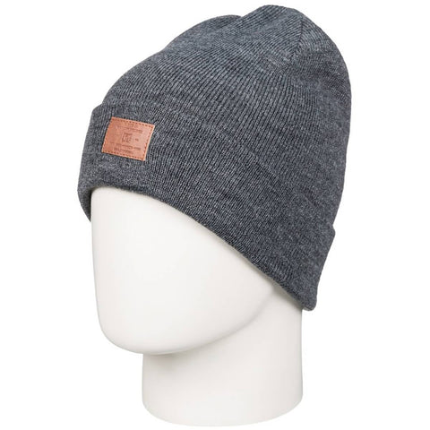 DC Label Cuff Men's Beanie Hats (BRAND NEW)