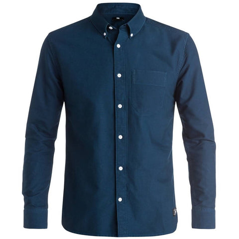 DC Oxford Men's Button Up Long-Sleeve Shirts (BRAND NEW)