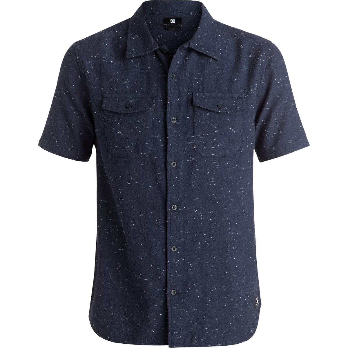 DC Echo Men's Button Up Short-Sleeve Shirts-EDYWT03137