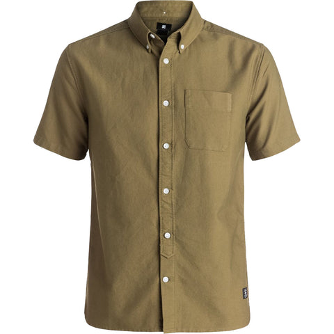 DC Oxford 3 Woven Men's Button Up Short-Sleeve Shirts (BRAND NEW)