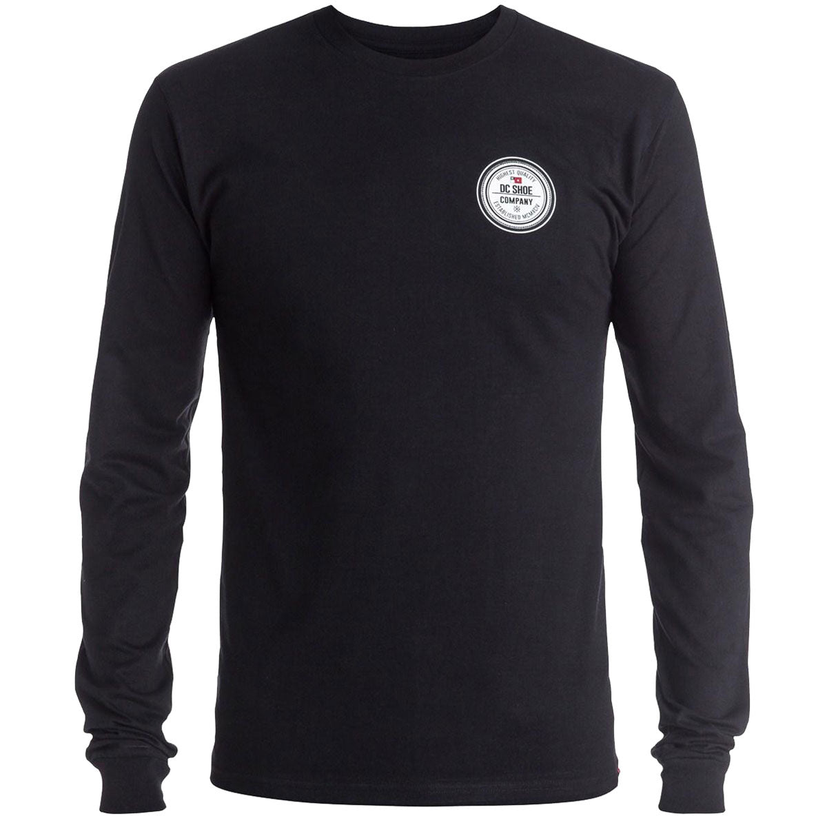 DC Circular Seal Men's Long-Sleeve Shirts-ADYZT03934