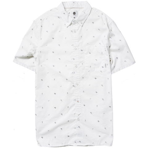 Element Moore Men's Button Up Short-Sleeve Shirts