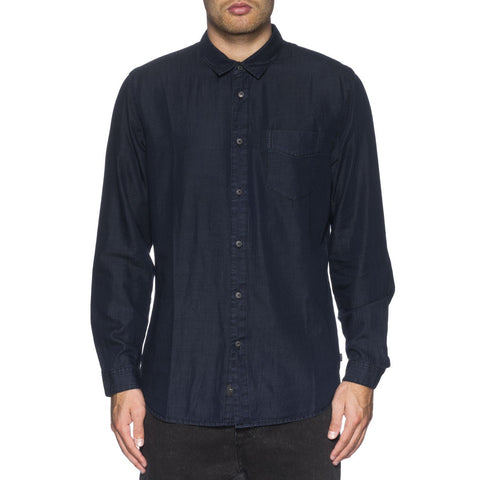 Globe Goodstock Vintage Woven Men's Button Up Long-Sleeve Shirts (USED LIKE NEW / LAST CALL SALE)