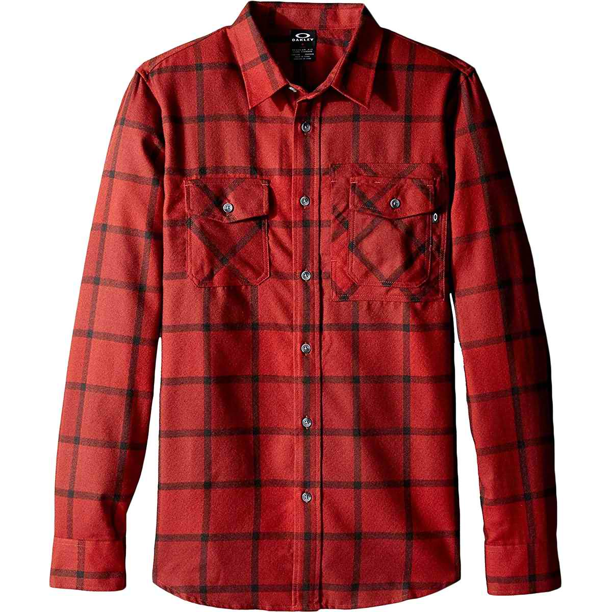 Oakley Adobe Woven Men's Button Up Long-Sleeve Shirts-401773