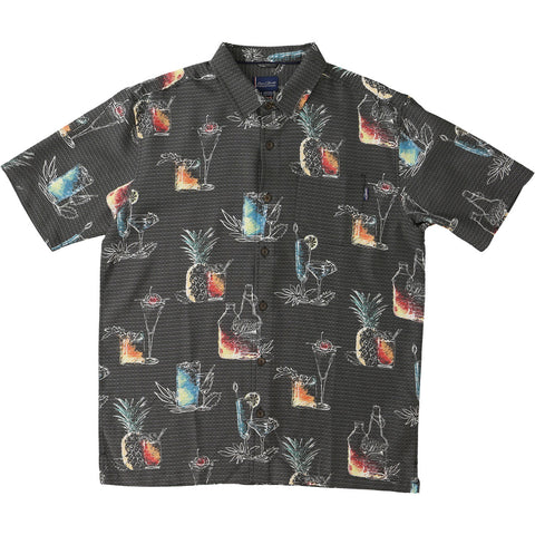 O'Neill Jack O'Neill On Tap Men's Button Up Short-Sleeve Shirts (USED LIKE NEW / LAST CALL SALE)
