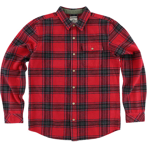O'Neill Oakridge Flannel Men's Button Up Long-Sleeve Shirts (USED LIKE NEW / LAST CALL SALE)