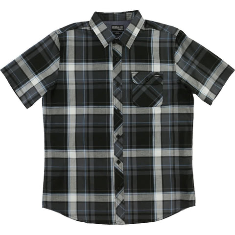O'Neill Plaid Men's Button Up Short-Sleeve Shirts (USED LIKE NEW / LAST CALL SALE)