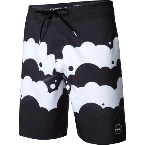 O'Neill Hyperfreak Brooklyn Clouds Men's Boardshort Shorts (USED LIKE NEW / LAST CALL SALE)