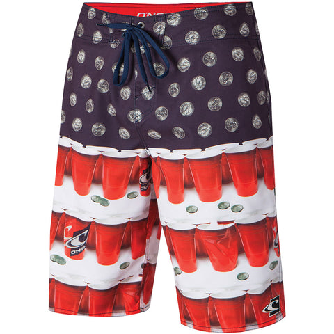 O'Neill Quarters Men's Boardshort Shorts (USED LIKE NEW / LAST CALL SALE)