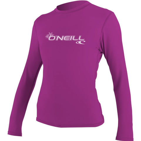 O'Neill Basic 50+ Sun Shirt Women's Long-Sleeve Rashguard Suit