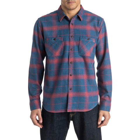 Quiksilver Go Forth Men's Button Up Long-Sleeve Shirts (USED LIKE NEW / LAST CALL SALE)