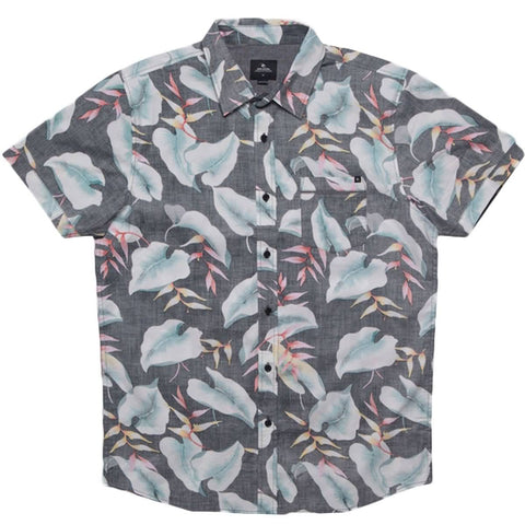 Rip Curl Resort Men's Button Up Short-Sleeve Shirts
