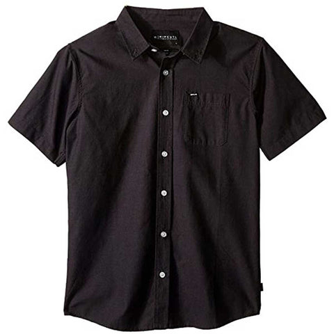 Rip Curl Ourtime Youth Boys Button Up Short-Sleeve Shirts