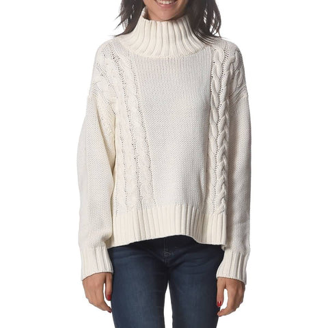 Rusty Lotus Hi Neck Knit Women's Long-Sleeve Shirts (BRAND NEW)