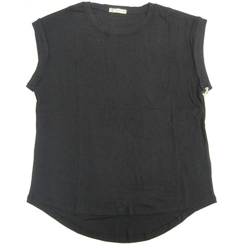 Rusty Blank Rib Rolled Women's Tank Shirts (BRAND NEW)