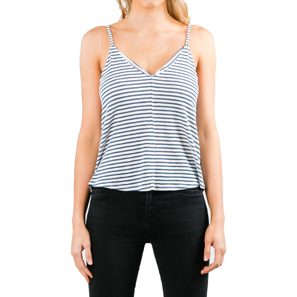 Rusty Women's Koda Stripe Tank-TSL0534-BST