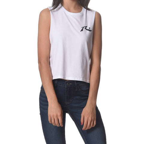 Rusty Moonlight Crop Muscle Women's Tank Shirts (BRAND NEW)