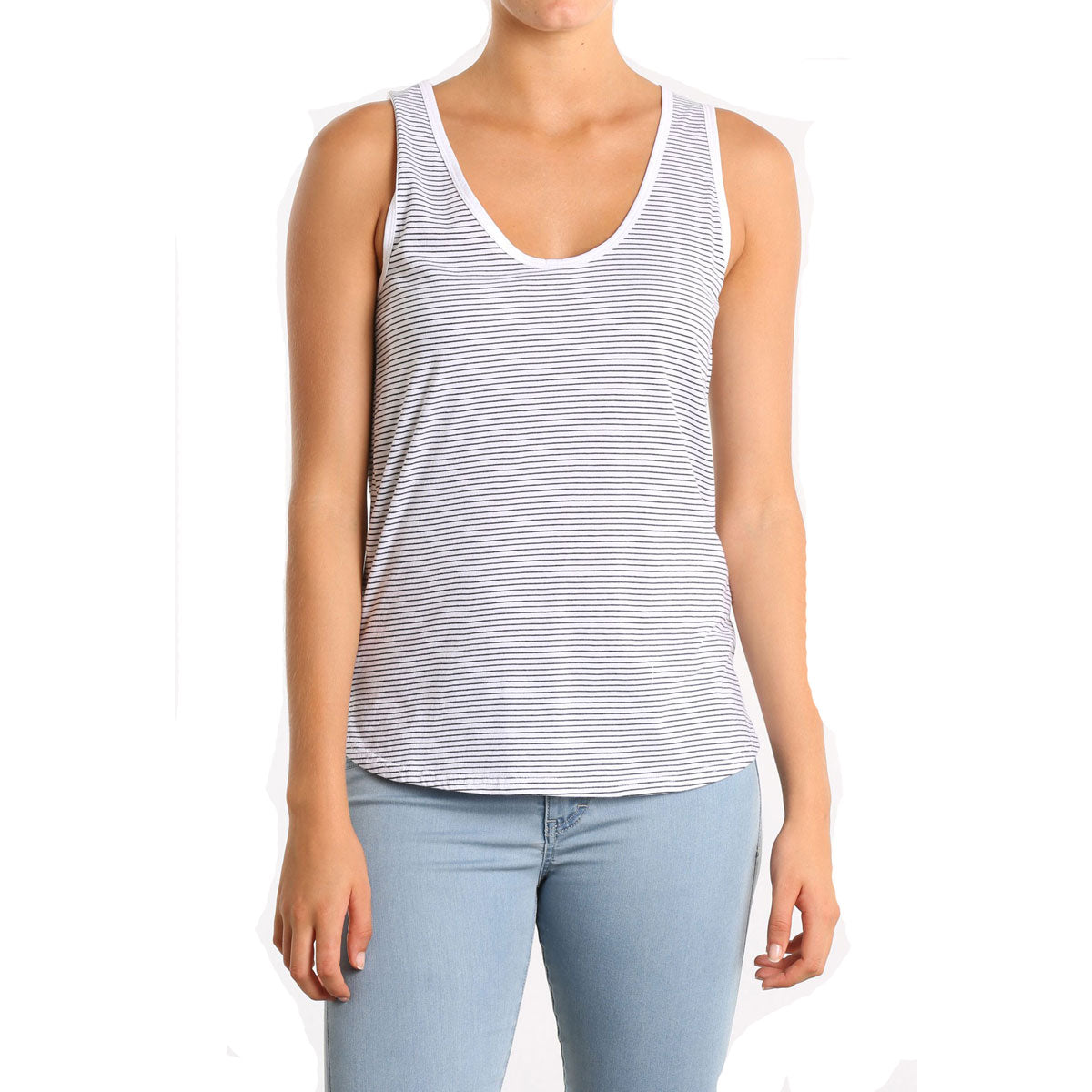 Rusty Women's Quicksand Tank Shirts-TSL0500-WHT